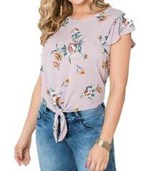 blusa ada palo de rosa para mujer croydon