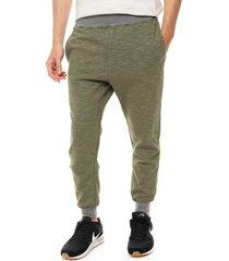 pantalón verde boardwise jaspeado