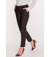 eleganckie czarne spodnie