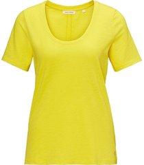 t-shirt sunny geel