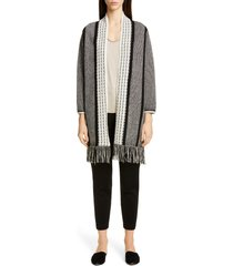 women's st. john collection slim milano knit ankle pants