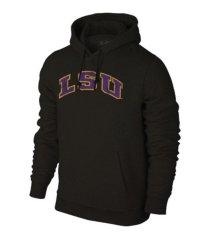 retro brand tigers ncaa men's screenprint big logo hooded sweatshirt