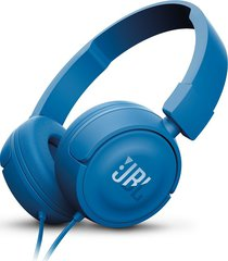 audifonos diadema plegable jbl t450 + azul