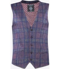 gilet gabbiano denim 2637 gilet bordeaux