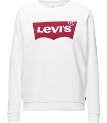relaxed graphic crew better ba sweat-shirt trui wit levi´s women