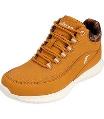 botas goodyear color miel gy802-b