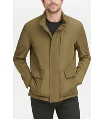 cole haan men's snap-front packable jacket
