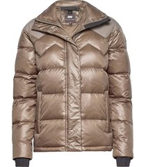 ws core down parka fodrad jacka guld mountain works