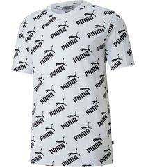 camiseta amplified aop tee puma mujer 581427 02 blanco