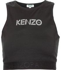 kenzo athletic crop top