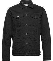 slhjeppe 4015 black st denim jacket w jeansjack denimjack zwart selected homme