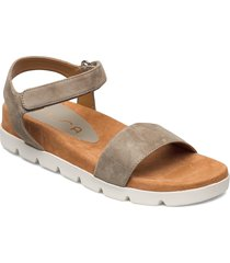 cepeda_ks shoes summer shoes flat sandals grå unisa