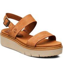 safari dawn 2 band sandal shoes summer shoes flat sandals brun timberland