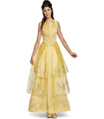 buy seasons women's disney beauty and the beast - belle ball gown deluxe costume