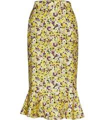 lea knälång kjol gul six ames