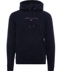tommy hilfiger essential organic cotton terry hoodie | desert sky | 17382-dw5
