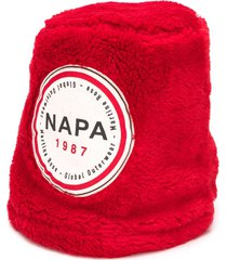 napa by martine rose fleece bucket hat - red