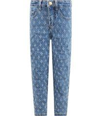 molo light blue allis jeans for girl