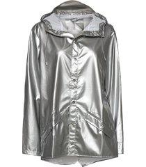 jacket regenkleding zilver rains