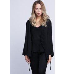 kimono czarne