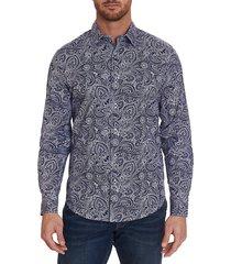 classic-fit paisley shirt