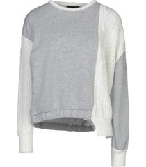 celebrities tricot sweatshirts