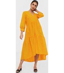 y.a.s yasradhika 3/4 midi dress s. loose fit dresses