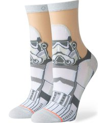 calcetin storm trooper monofil white stance
