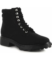 botines para mujer marca perugia color negro perugia - negro
