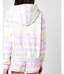 olivia rubin women's laurel hoodie - tie dye - l
