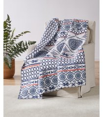 cape road quilted throw