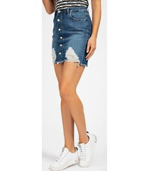 spódnica jeansowe fason skinny