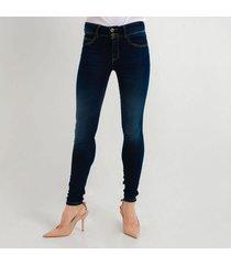 jean azul oscuro para mujer tipo skinny ajustado d97394