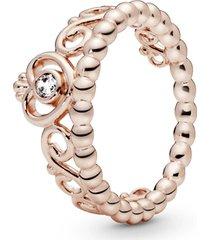 anel rose tiara de princesa