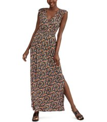 inc ditsy floral-print maxi dress, created for macy's