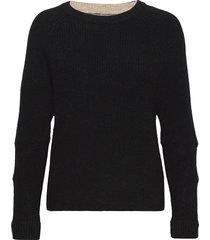 bravo stickad tröja svart fall winter spring summer