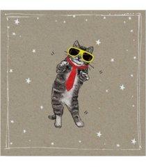 "hammond gower fancy pants cats i canvas art - 27"" x 33"""