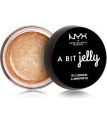 nyx professional makeup a bit jelly gel illuminator