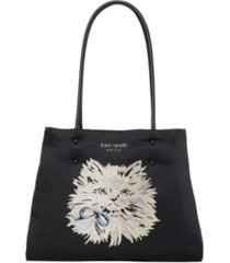 kate spade new york everything puffy cat large tote