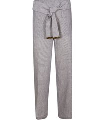 michael kors belted waist trousers