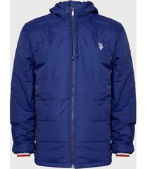 chaqueta us polo assn azul - calce regular
