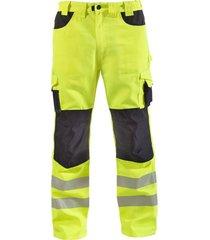 pantalon cargo hw dakota amarillo fluor hardwork