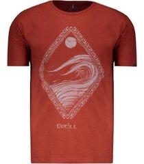 camiseta o'neill bali estampada masculina