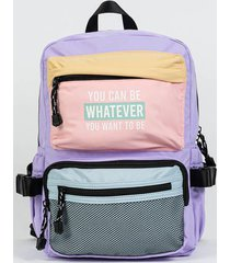 mochila violeta todomoda