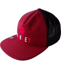 gorra para hombre hurley-rojo