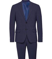 suit drejer-jepsen pak blauw bertoni