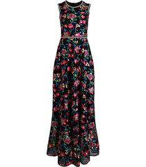 lorelei embroidered floral dress