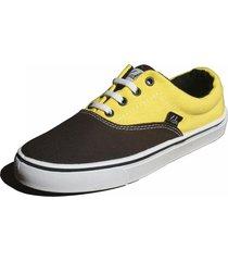 zapatilla amarilla  laden footwear clever