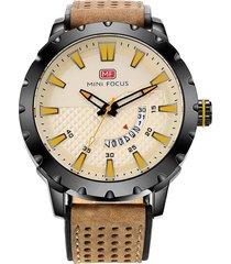 reloj análogo f0150g-3 hombre beige