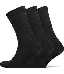 jbs socks terry sole, 3-pack underwear socks regular socks svart jbs